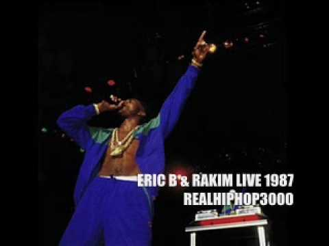 Eric B & Rakim Live 1987 Def Jam Tour (Hip Hop / Hiphop / Rap) LL Cool J Public Enemy Def Jam Tour