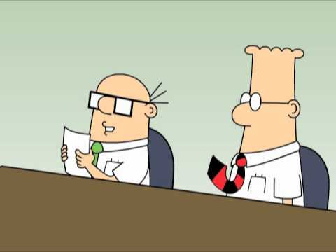Dilbert: Dead People and Never Work in the Real World ...