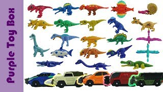 공룡메카드 장난감 총모음 #3 Dinosaur Eggs, Transformer And Car Toys