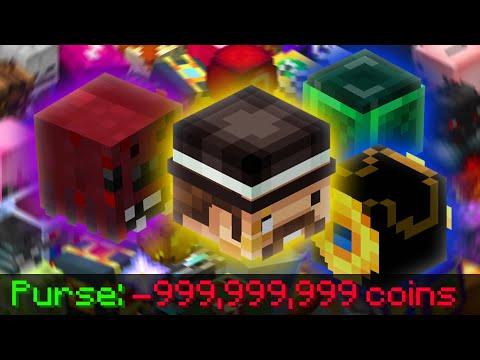 The Quest for ALL TALISMANS in Hypixel SkyBlock |