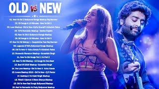 Old Vs New Bollywood Mashup 2021  Latest Romantic Hindi Songs Mashup Live_90's Hindi Mashup