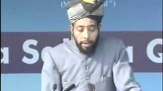 Burhan Zafar Sb- Seerath-e-Sahaba at Jalsa Qadian 2009 Day 3 Morning Part 3-5