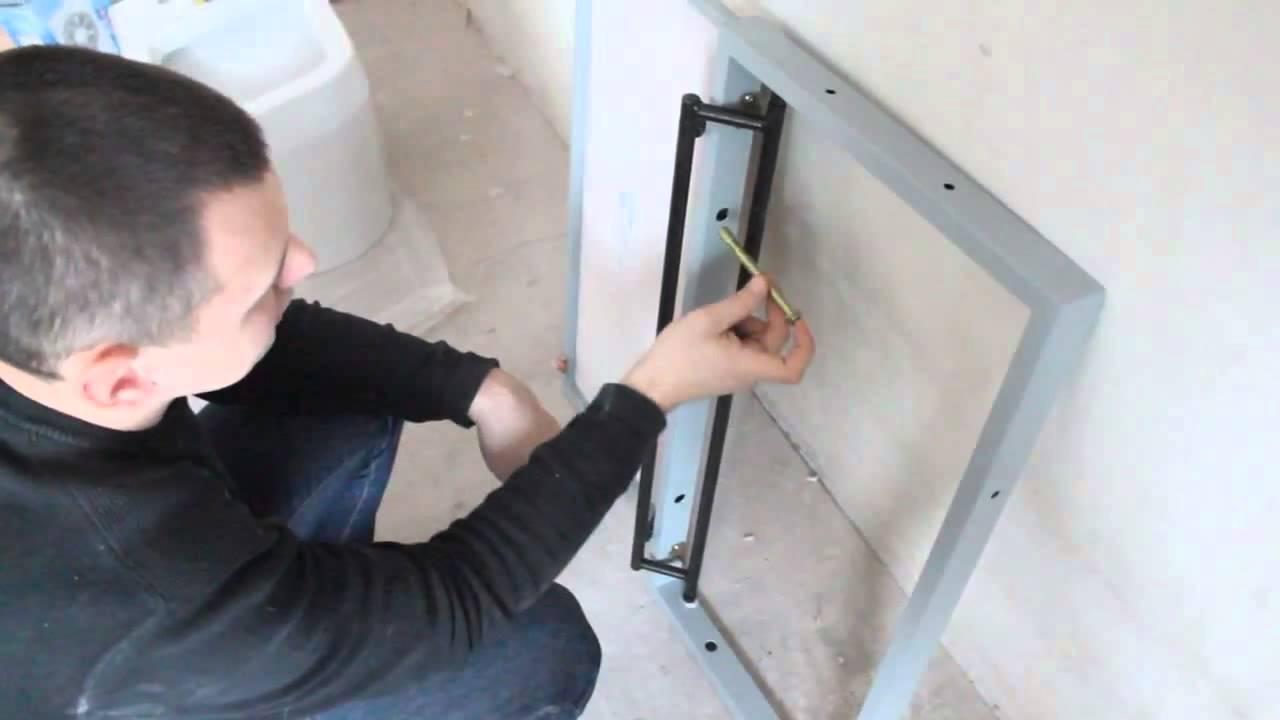 Сантехнические лючки, ревизионные люки, инспекционные люки обеспечивают доступ к инженерным сетям. Купить в г. Спб для ванной, туалетов,