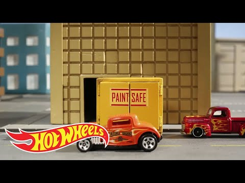 HW Flames™ Making A Mess | Hot Wheels