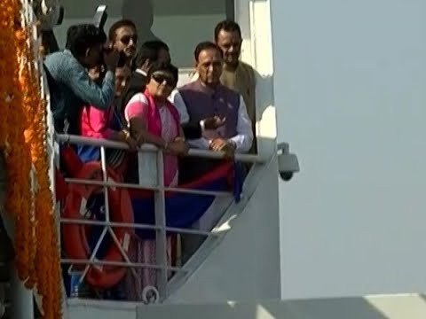 Gujarat Chief Minister Vijay Rupani inaugurate ambitious 'Ro Ro ferry' services