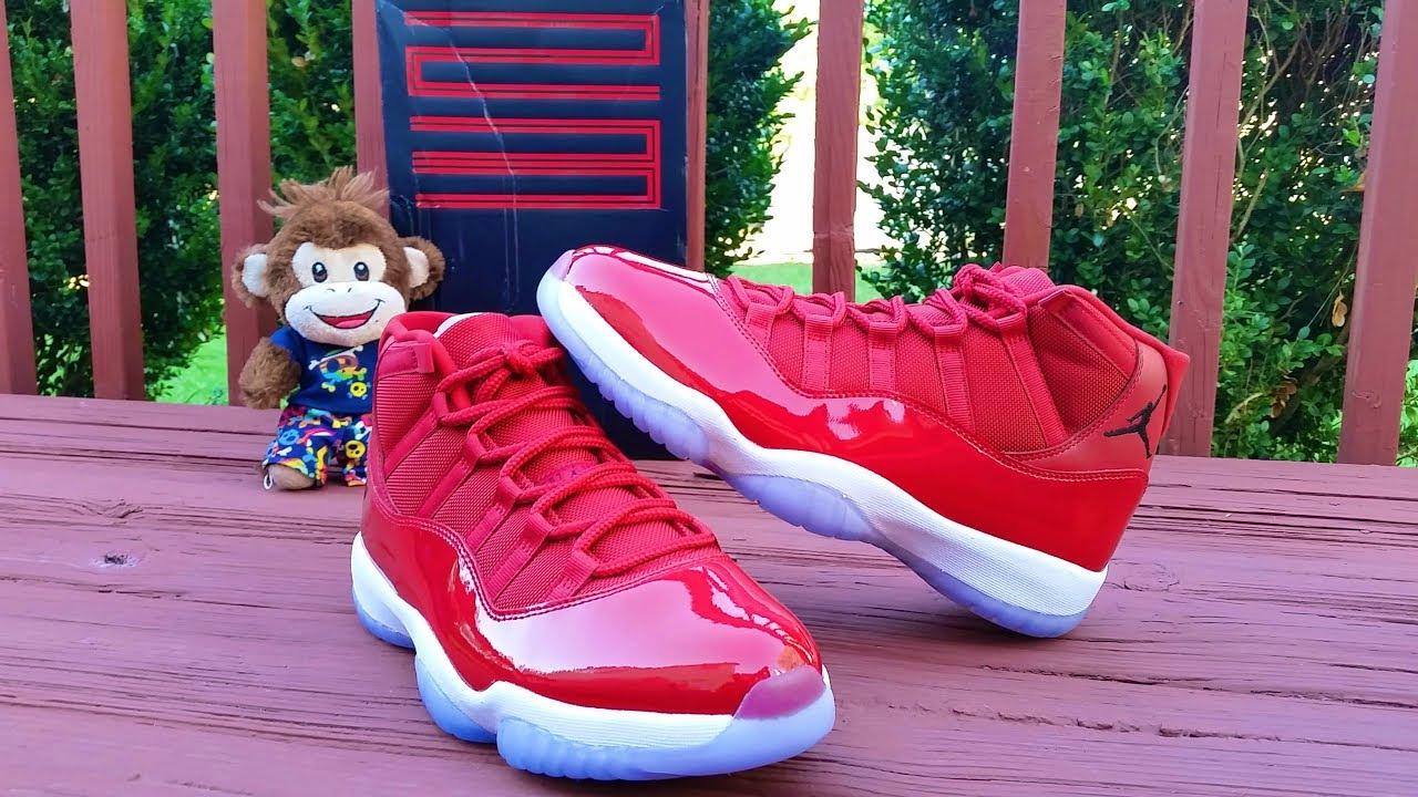innovative design e51c2 e4be6 Air Jordan 11 Gym Red (Win Like '96)