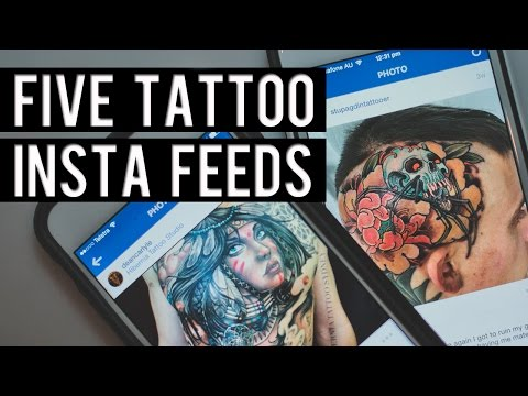 5 TATTOO ARTISTS YOU SHOULD FOLLOW ON INSTA