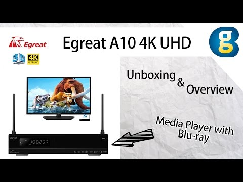 Egreat A10 4K UHD Media Player  Unboxing & Overview