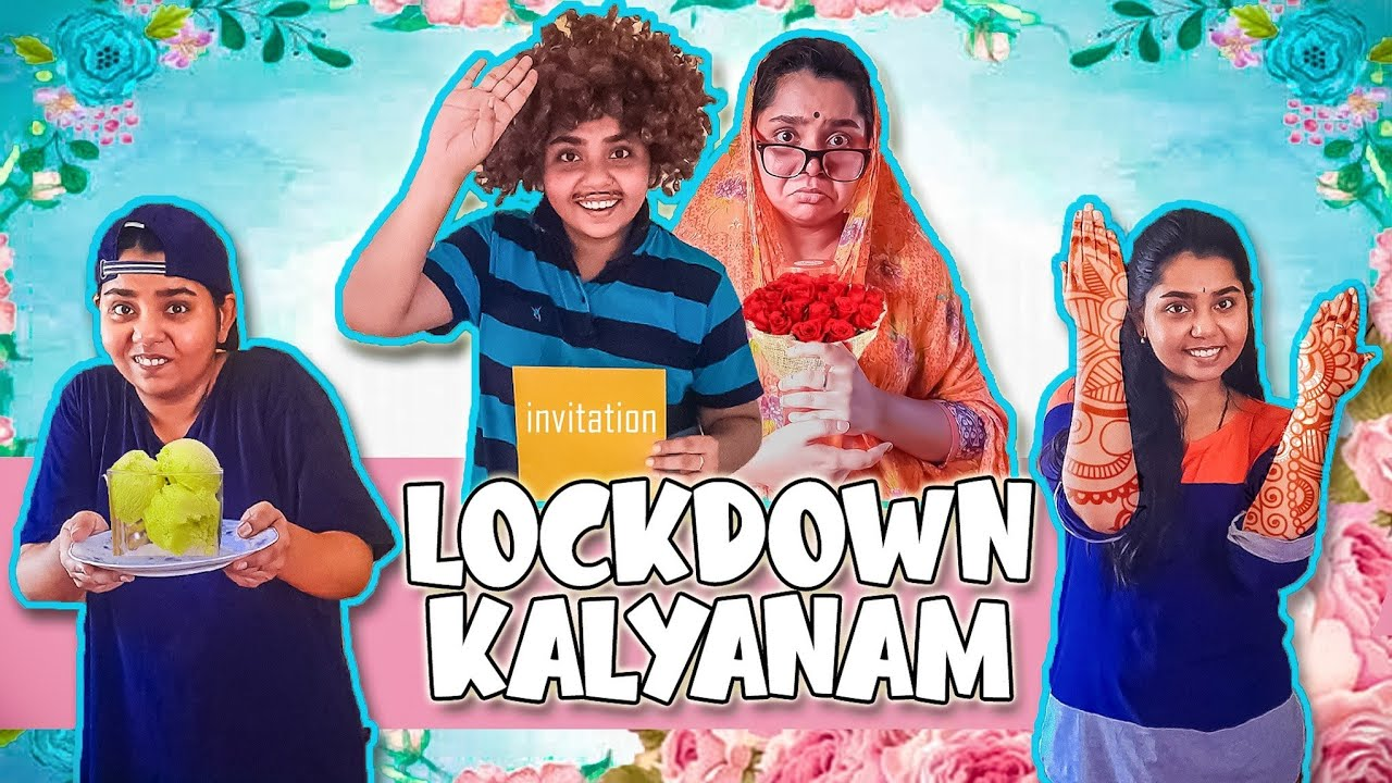 Indian Marriages During Lockdown | Lockdown Kalyanam | Tamil Comedy Video 2021 | Simply Sruthi