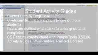 Campus Solutions Student Activity Guides