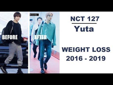 NCT 127 Yuta Weight Loss 2016 - 2019