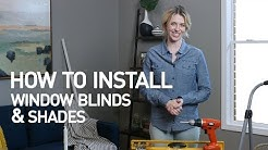 How to Install Window Blinds and Shades