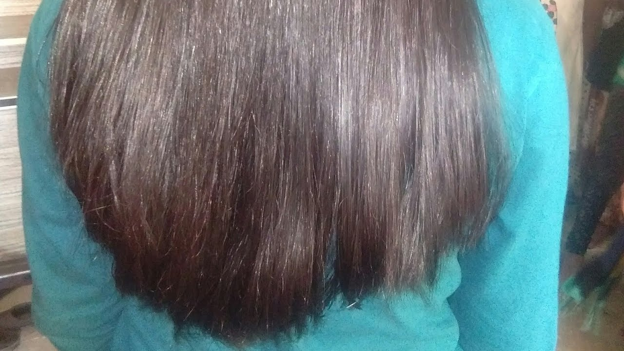 Long hair deep u haircut / how to cut deep u haircut (12)