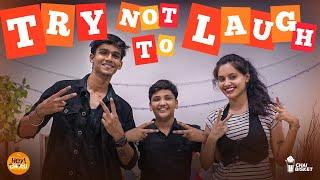 #Challenge19 | Try Not To Laugh  | ft. @Chai Bisket Pranav & Siri | Hey Chotu | Chai Bisket