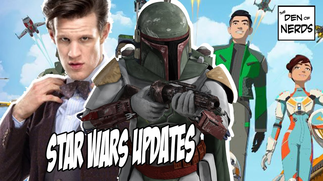 Star Wars News: Matt Smith, Rian Johnson vs Mike Zeroh, Star Wars Resistance & More!