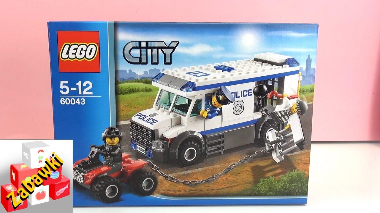 Lego City 60043 Więźień Ucieka Policjantowi Budowanie Film Youtube