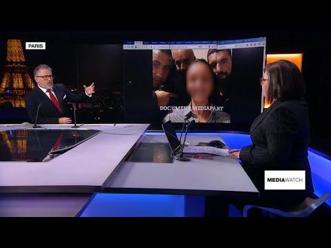 Macron's former bodyguard's gun selfie