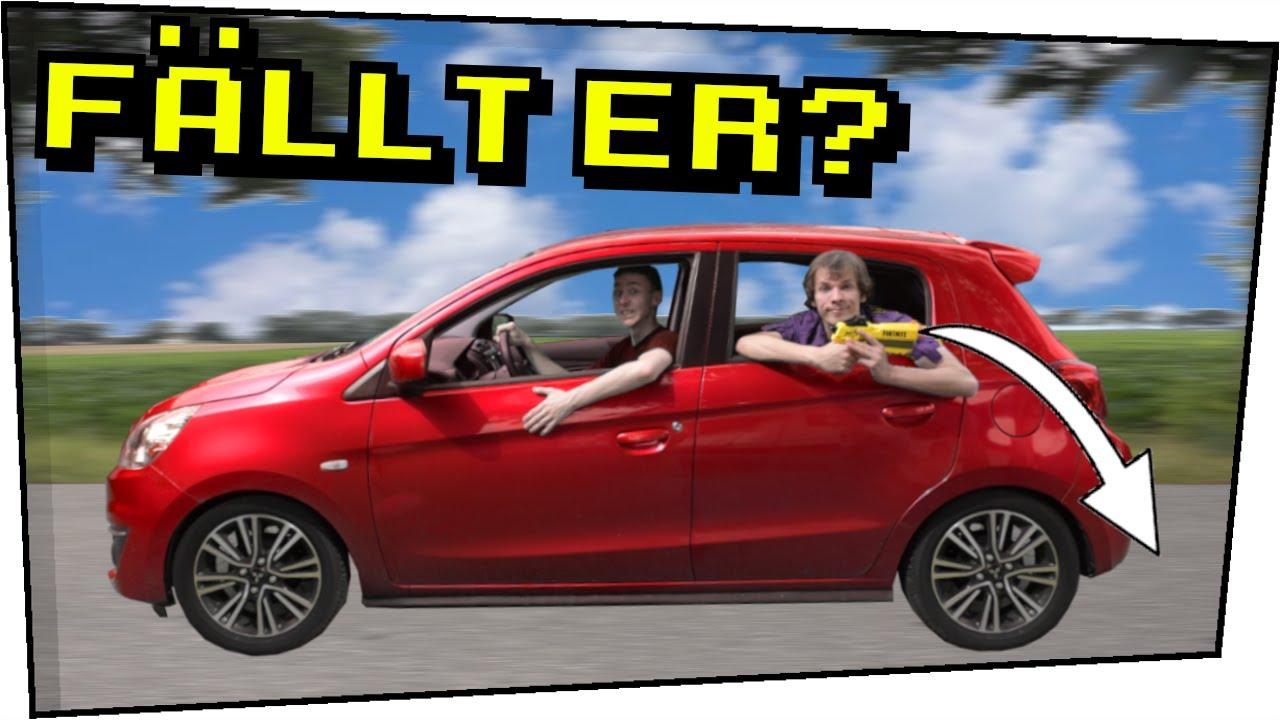 Nerfdart rückwärts aus Auto schießen! - Mit Magicbiber