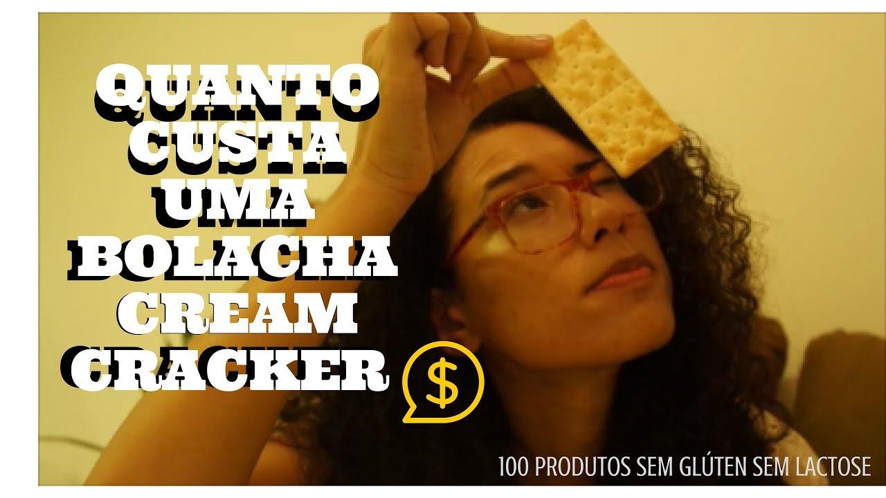 Bolacha Cream Cracker Schar 17/100 produtos sem glúten sem lactose