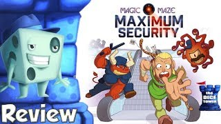 Magic Maze: Maximum Security Review - with Tom Vasel