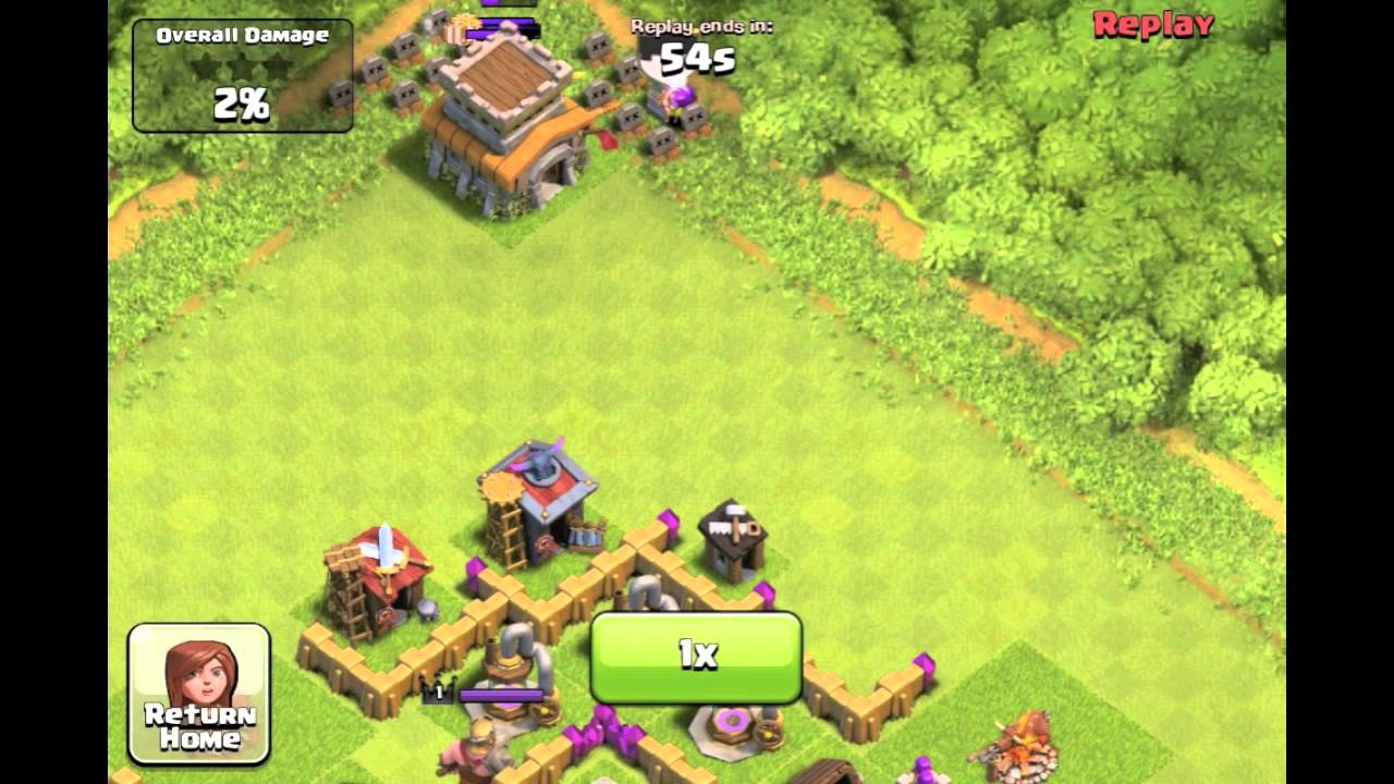 Clash of clans worst attack ever youtube