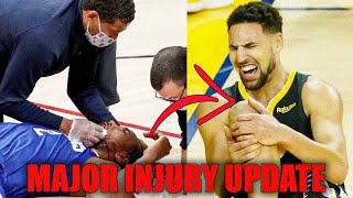 MAJOR Injury Updates and News In the NBA! (feat.Golden State Warriors, Klay Thompson,James Wiseman)