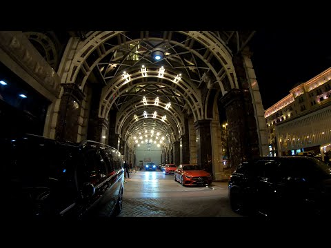 ⁴ᴷ⁵⁰ Walking Moscow: Moscow Center - Interactive Video - Part 3 (2⁄4): Turn Right to Tverskaya St