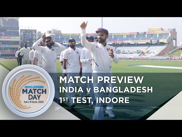 Bangladesh brace for tough test against dominant India   Indore Test preview