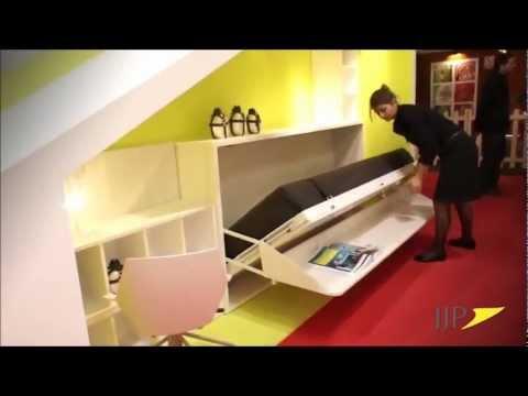 Muebles juveniles sistema de camas y literas abatibles de - Muebles literas juveniles ...
