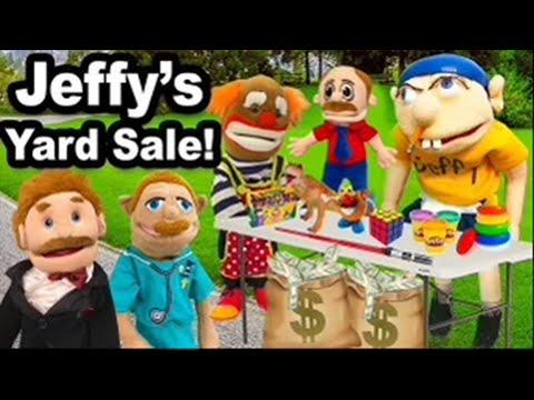 SML Movie: Jeffy's Yard Sale!