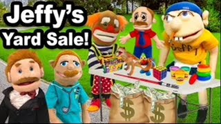 SML Movie: Jeffy's Yard Sale!