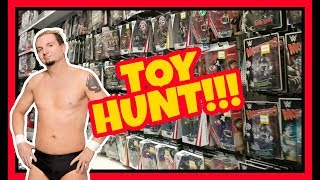 WWE TOY HUNT!!! JAMES ELLSWORTH RETURNS!!! WWE Mattel Wrestling Figure Fun