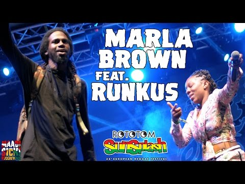 Marla Brown & Runkus - One Shot @ Rototom Sunsplash 2016