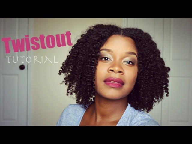 Natural Hair   Twist Out Tutorial
