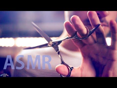 [ASMR] Scalp Massage / Haircut / Hair Brushing (Roleplay) - ENGLISH Whispering