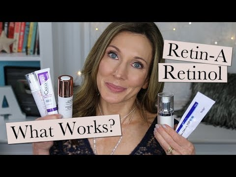 Retinoids, Retin-A, Retinol for Anti Aging ~ What Works + How To Choose!