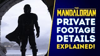 The Mandalorian PRIVATE FOOTAGE DETAILS REVEALED! NEW PHOTOS! (New Star Wars Series)