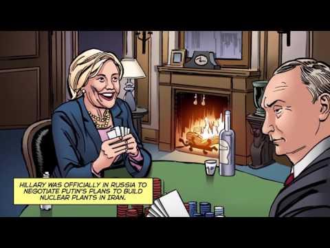 Clinton Cash A Graphic Novel - Hillary's Reset #ClintonCashAGraphicNovel #ClintonCash
