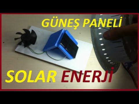 Güneş Paneli Nedir Nasıl Çalışır-Solar Panel Çalışması Bedava Elektrik Üretimi