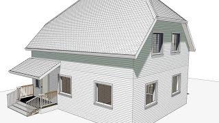 Chief Architect обучение 89166016501 проектирование доходного дома, архитектура.