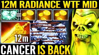 🔥 WTF 12min Radiance - CANCER IS BACK Necrophos Mid Right Click Burning Monster 7.29 Dota 2 Pro | NewsBurrow thumbnail