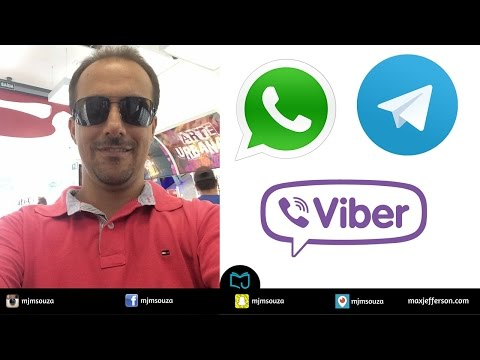 Live - WhatsApp, Viber, Telegram, Messenger Facebook e muito