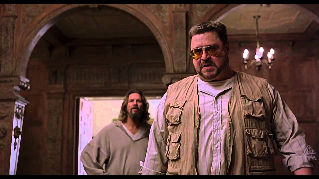 Spinal (scene from The Big Lebowski) - YouTube