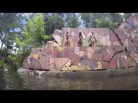 QUARRY CLIFF JUMPING IN VIRGINIA !! 50FEET!!!