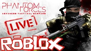 - 🎮 ROBLOX PHANTON FORCES PLAYING E CHATTING CON GALERA-27/01 #5200