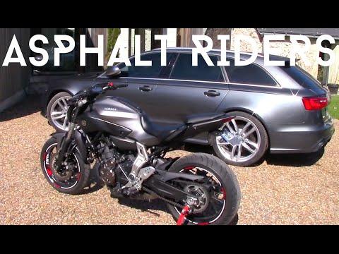 Yamaha Mt07 Moto Cage Stock Exhaust Vs Akrapovic Doovi