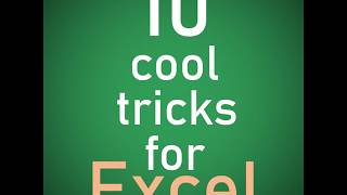10 Excel Tricks You MUST Know