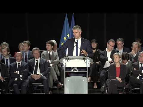 Grand rassemblement de campagne de Laurent Wauquiez à Mandelieu