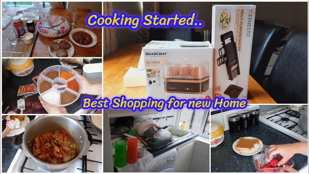Bohat Achi aur Useful cheezen len hai New ghar ke liye   Finally Cooking started in new Home