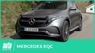 Mercedes EQC : premier essai de l'électrique selon Mercedes
